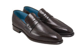 dominique saint paul alex loafer dark brown