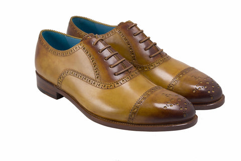 THE CITIZEN - HALF BROGUE SHOES