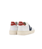 V-10 LEATHER EXTRA WHITE NAUTICO PEKIN