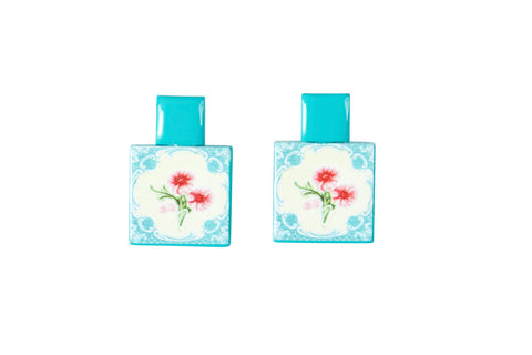 PERANAKAN TILE EARRINGS