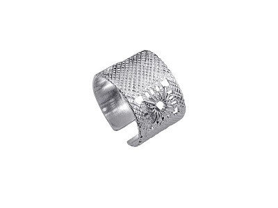 MADRIGAL ADJUSTABLE SMALL SILVER RING