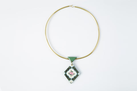 PERANAKAN TILE NECKLACE