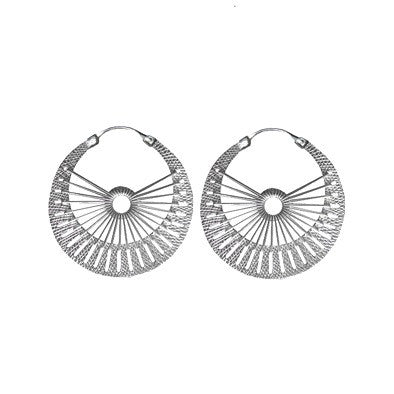 ARGOLLA SOL SILVER EARRINGS