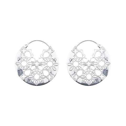 CELOSIA ROUND EARRINGS