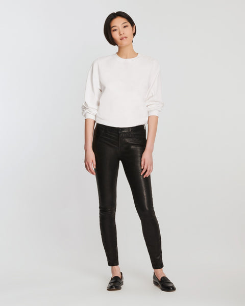 J Brand Five Pocket Leather Pants