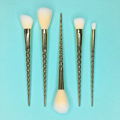 Gold Unicorn Brush Set (Limited Edition)