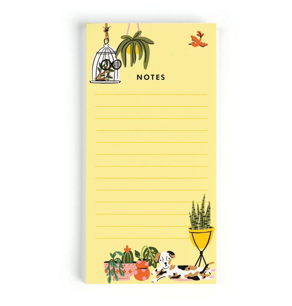 Little Low Studio - Plant Lady Notes Notepad