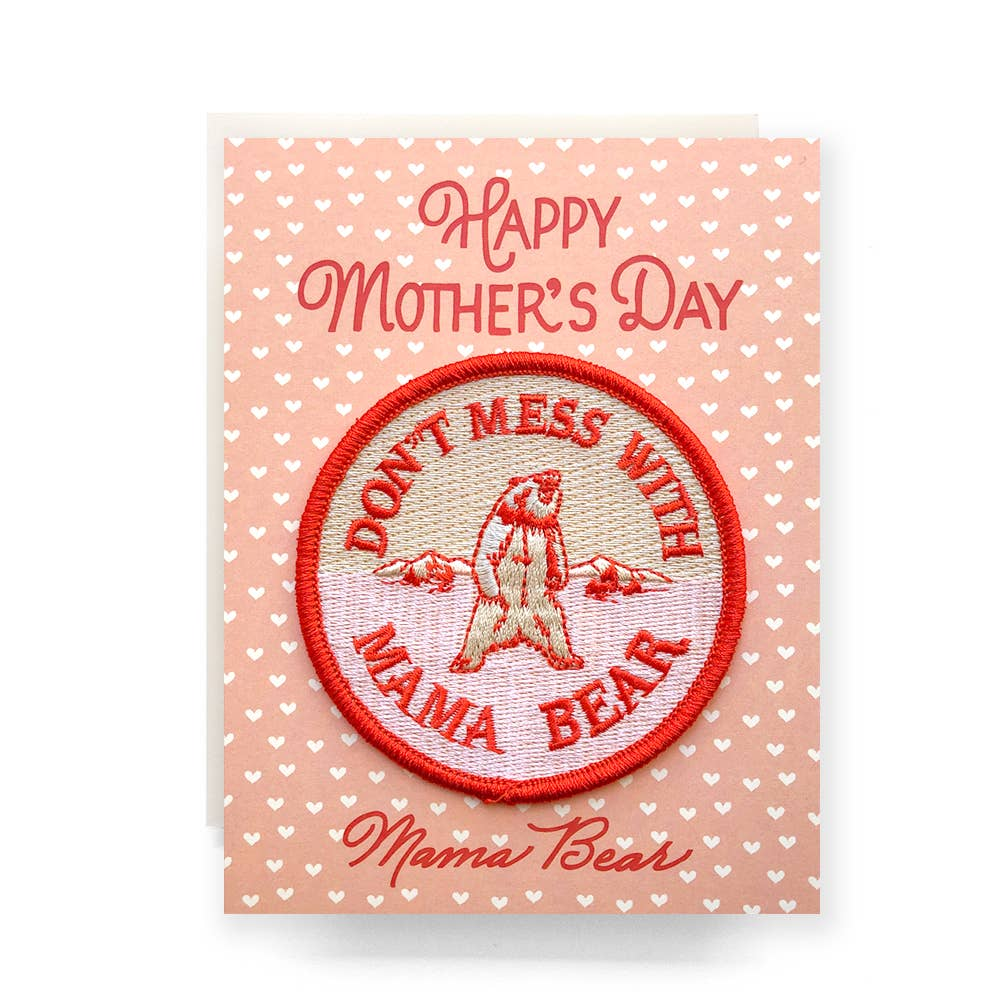 Patch Card: Mother's Day Greeting Card