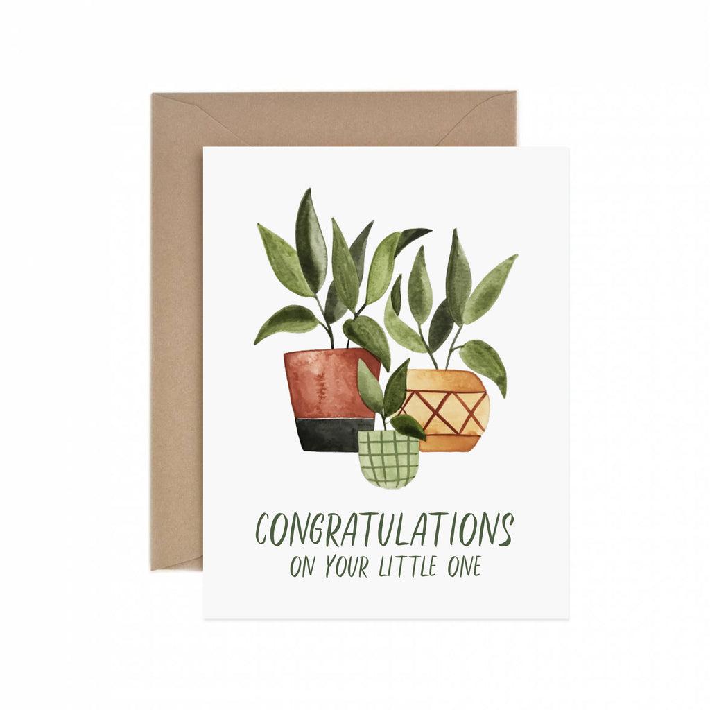 Paper Anchor Co. - Congrats On Your Little One Greeting Card