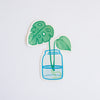 Hemleva Monstera Propagation Sticker (Small)