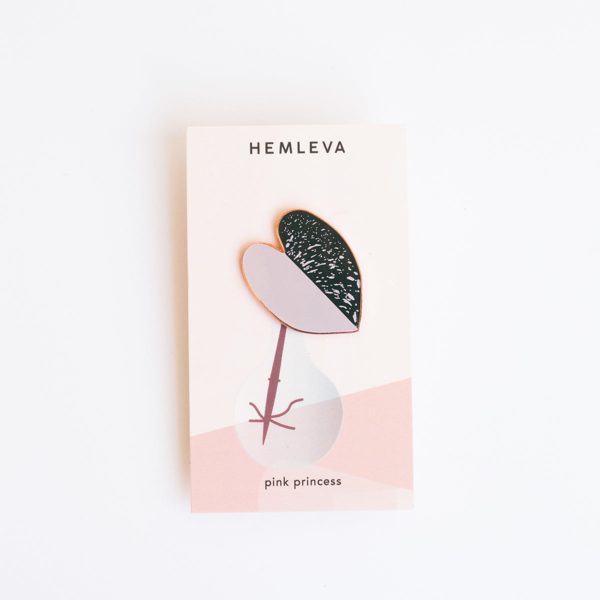 Hemleva Pink Princess • Lilac • Limited Edition Pin