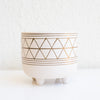 Geometric Footed Planter