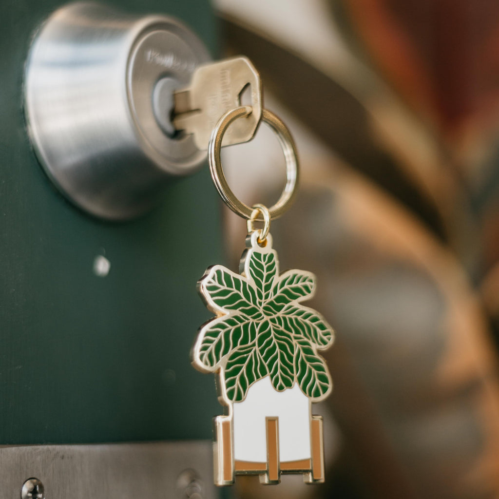 Paper Anchor Co. - Fiddle Leaf Fig Keychain