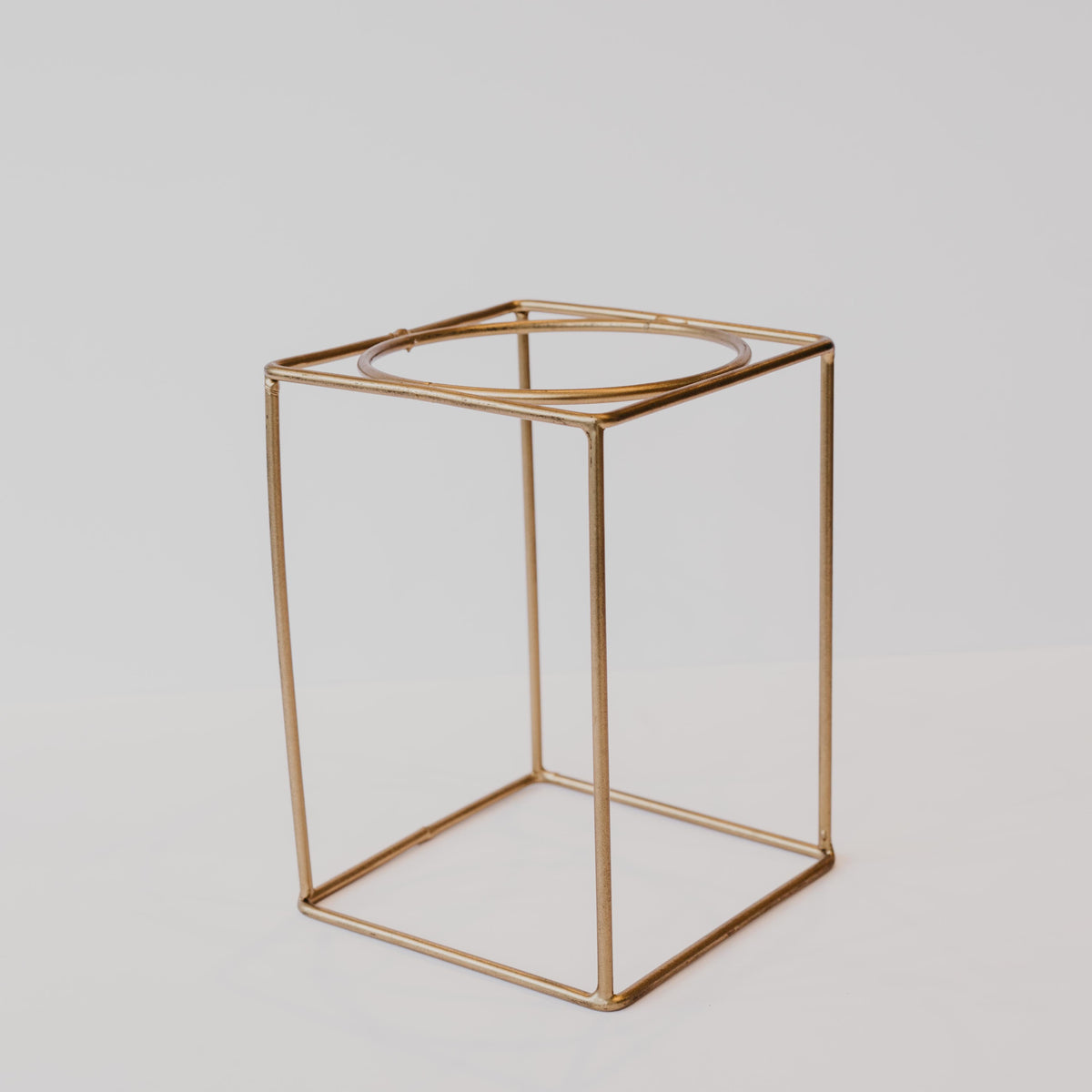 Simple Brass Plant Stand