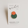 Julia Blooming Cactus Lapel Pin