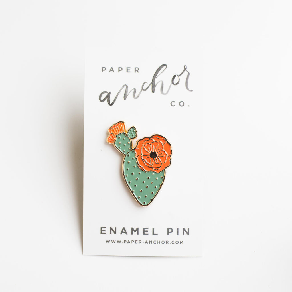 Paper Anchor Co. - Mercedes Prickly Pear Lapel Pin