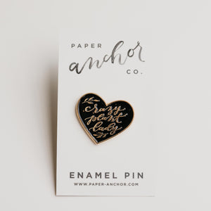 Paper Anchor Co. - Crazy Plant Lady Lapel Pin