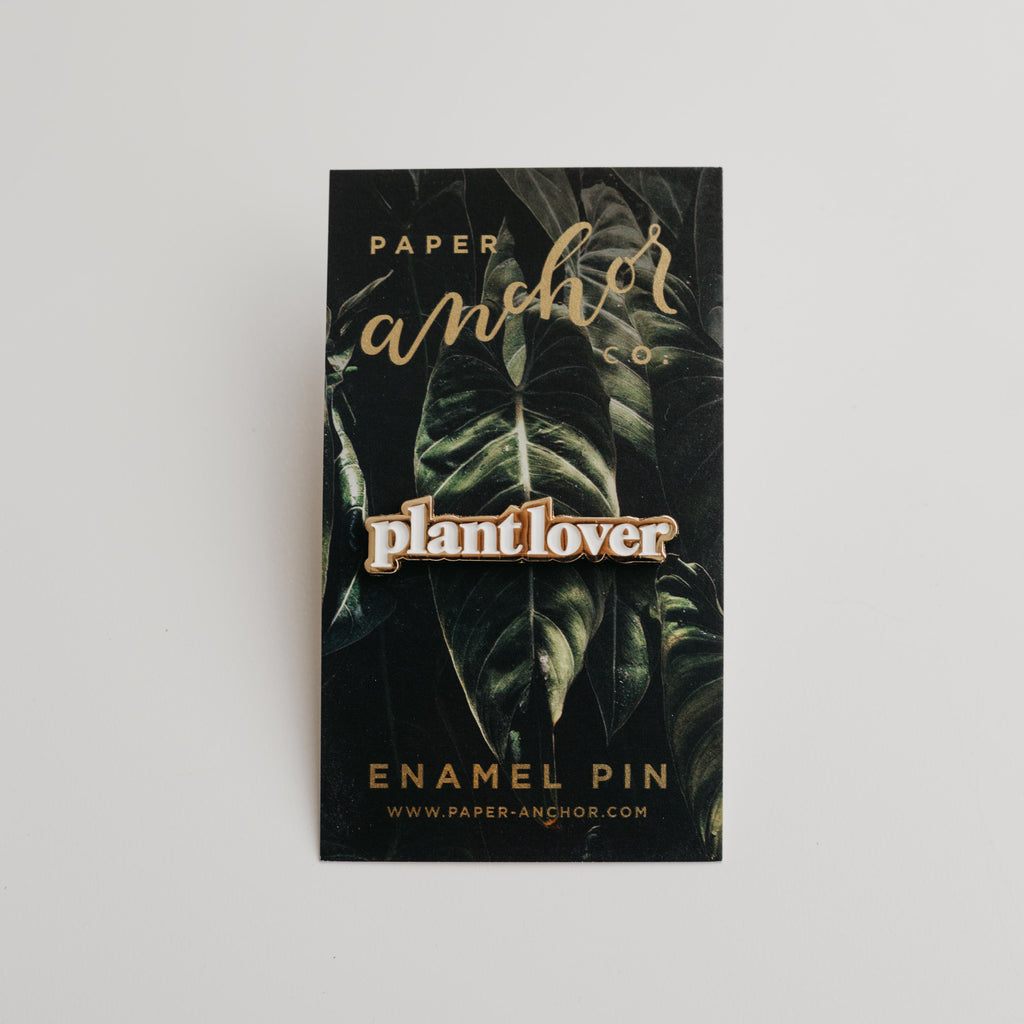 Paper Anchor Co. - Plant Lover Lapel Pin