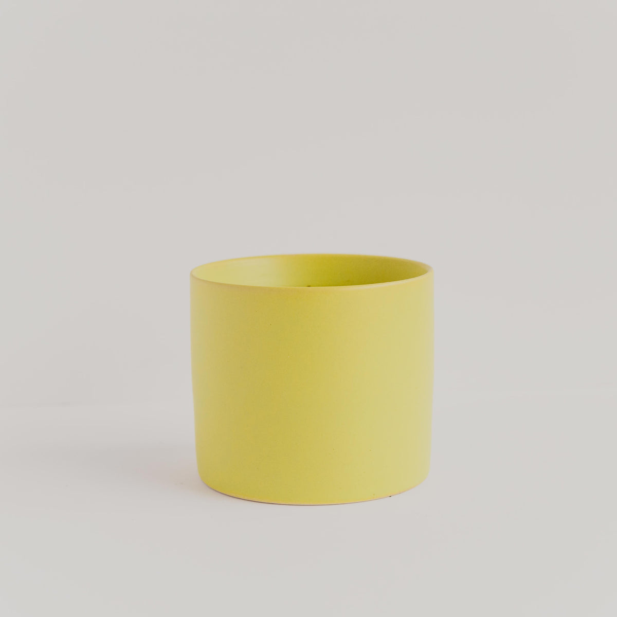 Chartreuse Palm Springs Cylinder Planter