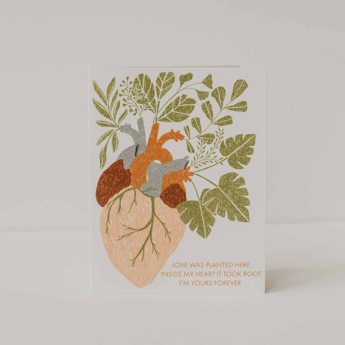 Love Keeps Growing Card