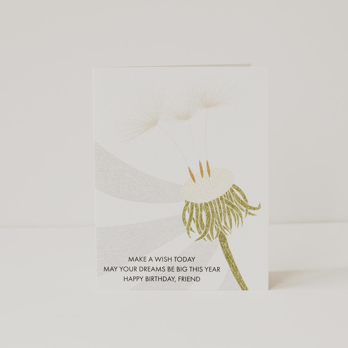 Dandelion Wish Card