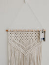 Natural and Navy Macrame Wall Hanging