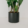 Charcoal Palm Springs Cylinder Planter