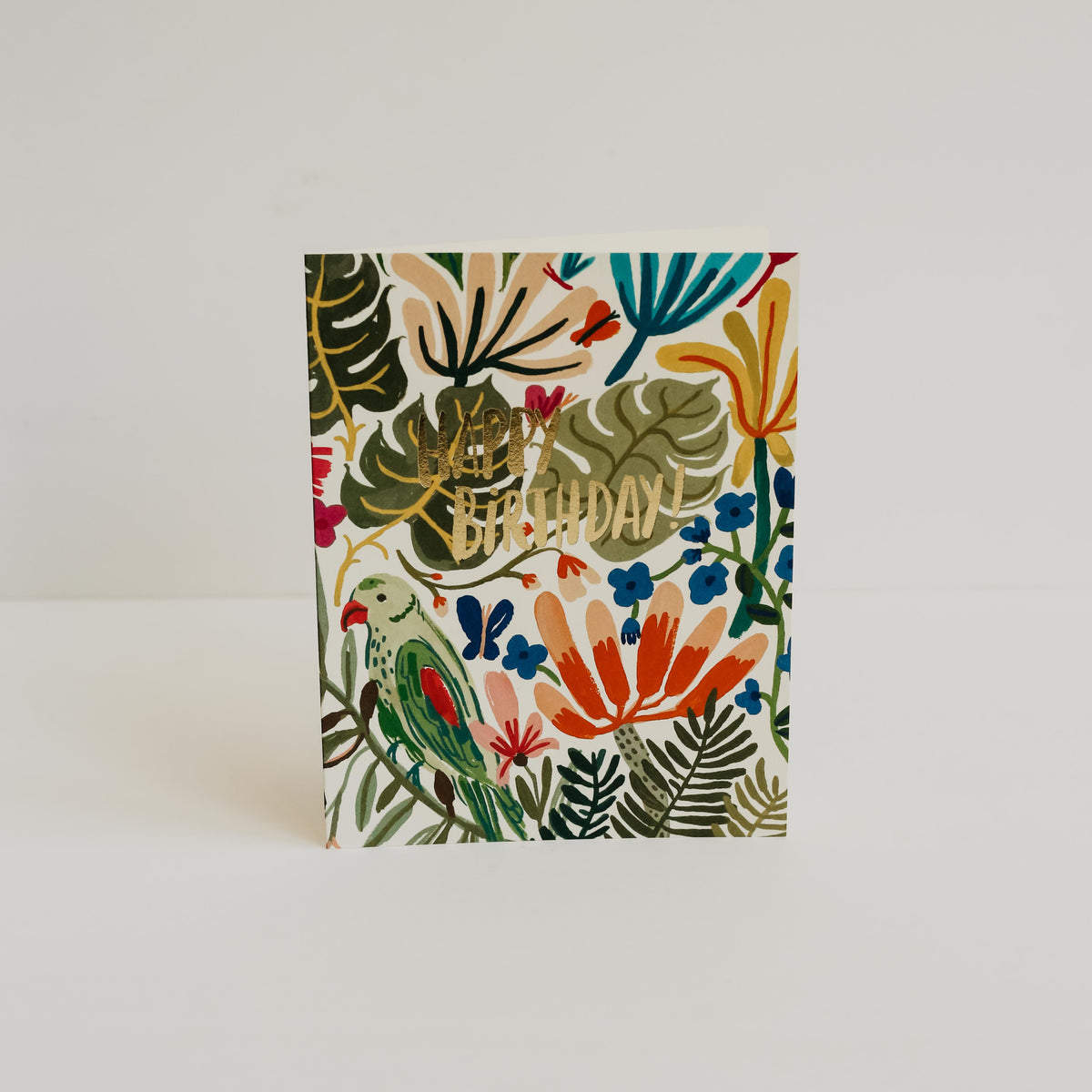 Tropical Jungle Birthday Card