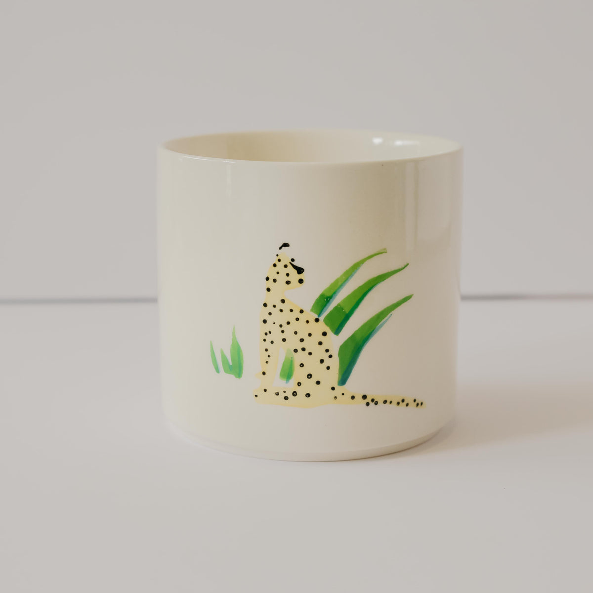 Leopard Panthera Pot