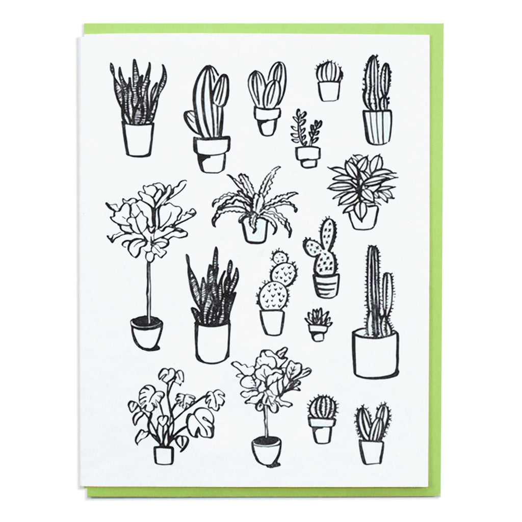 Plant Greeting Card - Planttern