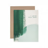 I Love You Dad Brush Greeting Card