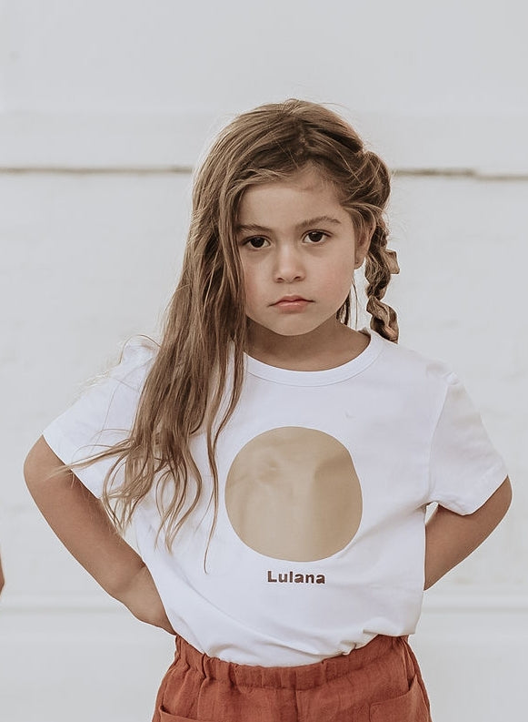 Golden Sun T-shirt WAS $40 - Lupine and Luna