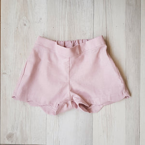 Delilah Shorts - Musk (SIZE 0) - Lupine and Luna