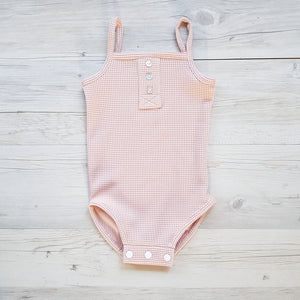 Bailey Singlet Suit - Blush WAS $55