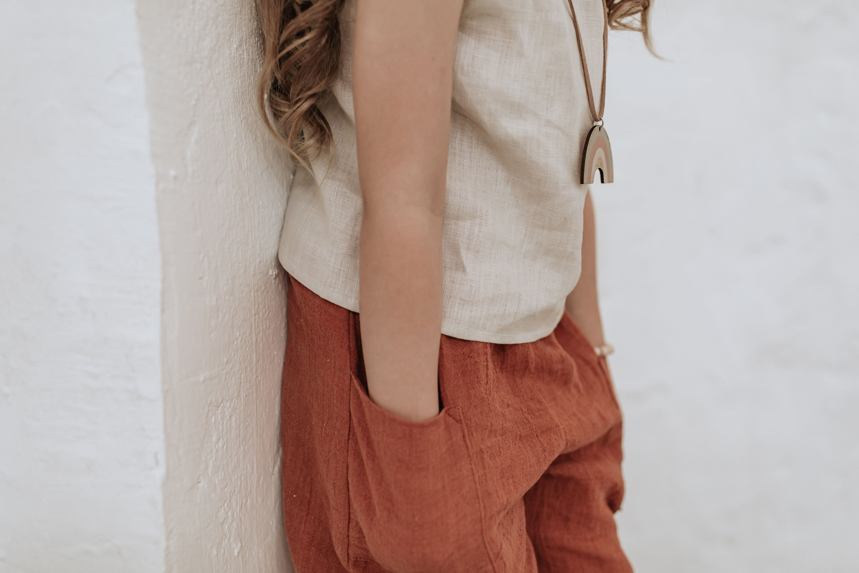 Lexi Culottes - Terracotta - Lupine and Luna