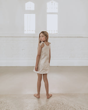 Anais Dress - Sand - Lupine and Luna