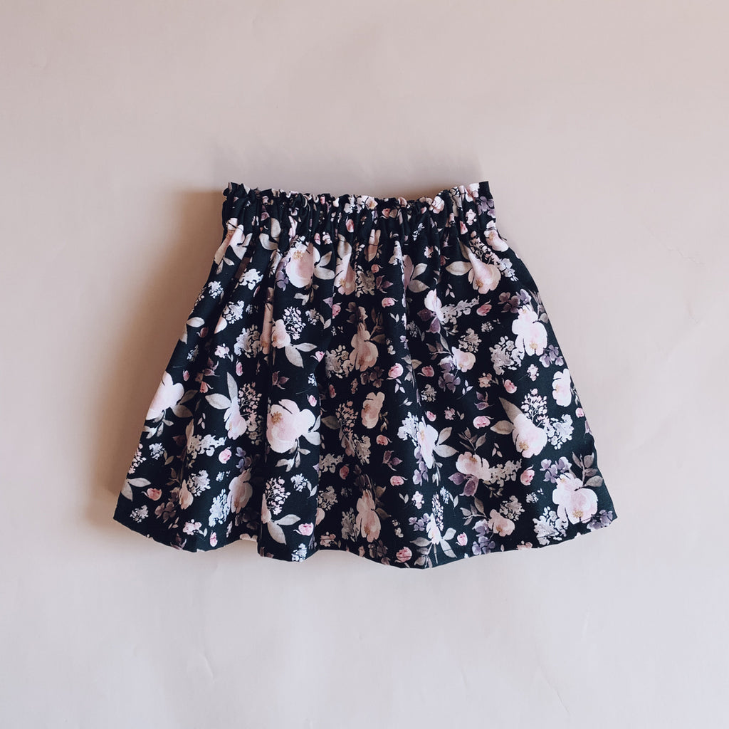 Ivy Skirt - Floral - Lupine and Luna