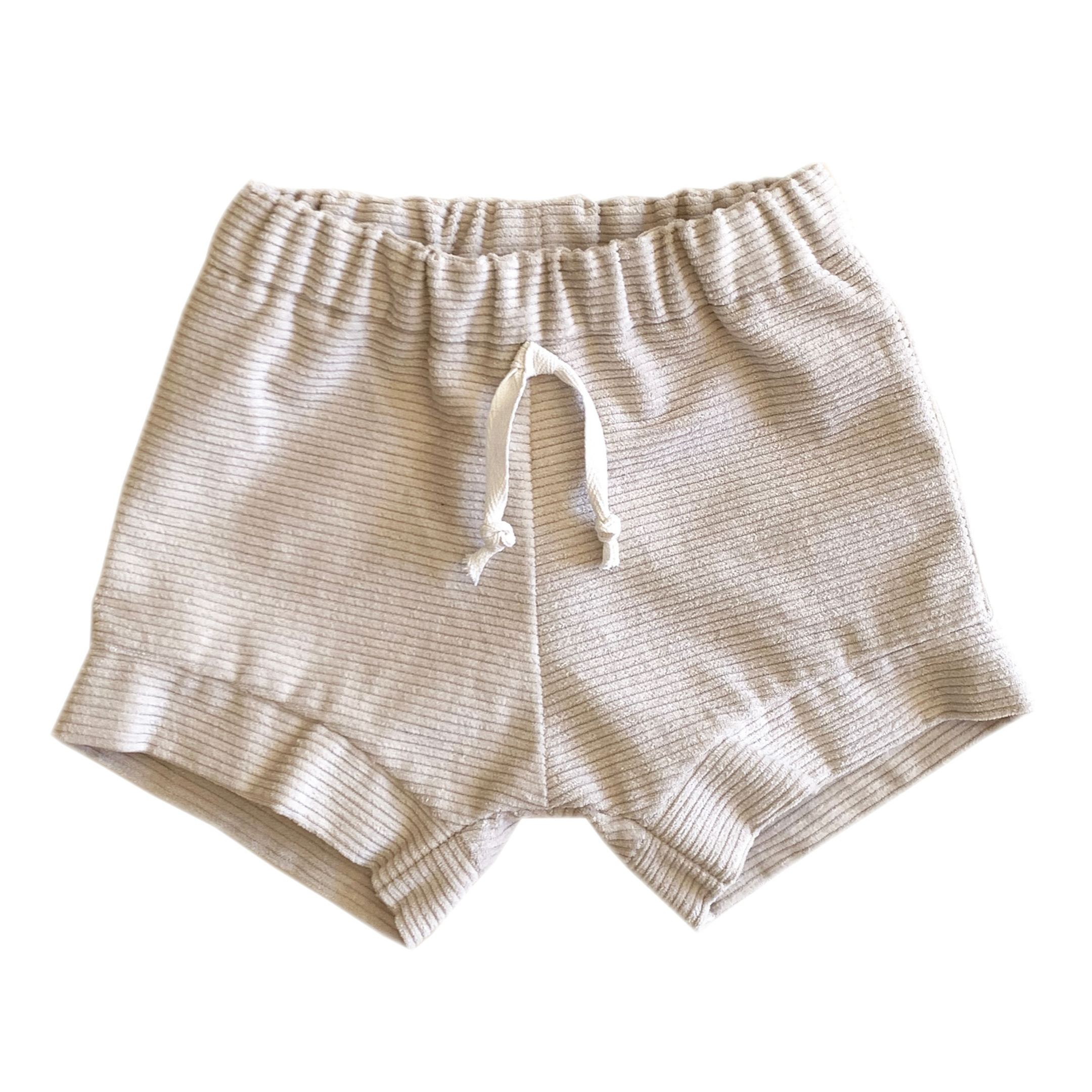 Elwood Corduroy Shorts Oat - Lupine and Luna