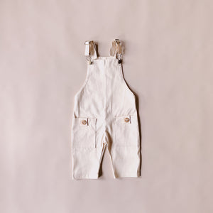Charlie Overalls - Vanilla - Lupine and Luna