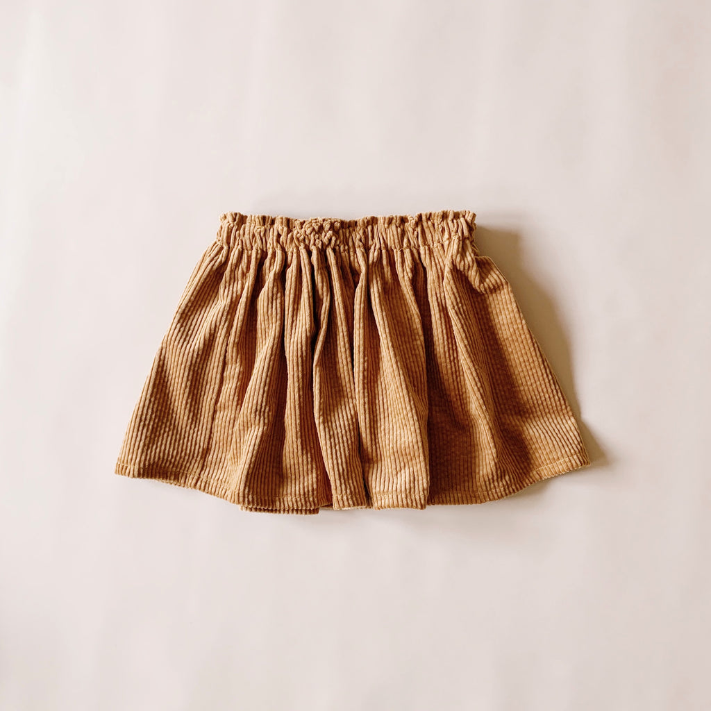 Ivy Skirt - Gold - Lupine and Luna