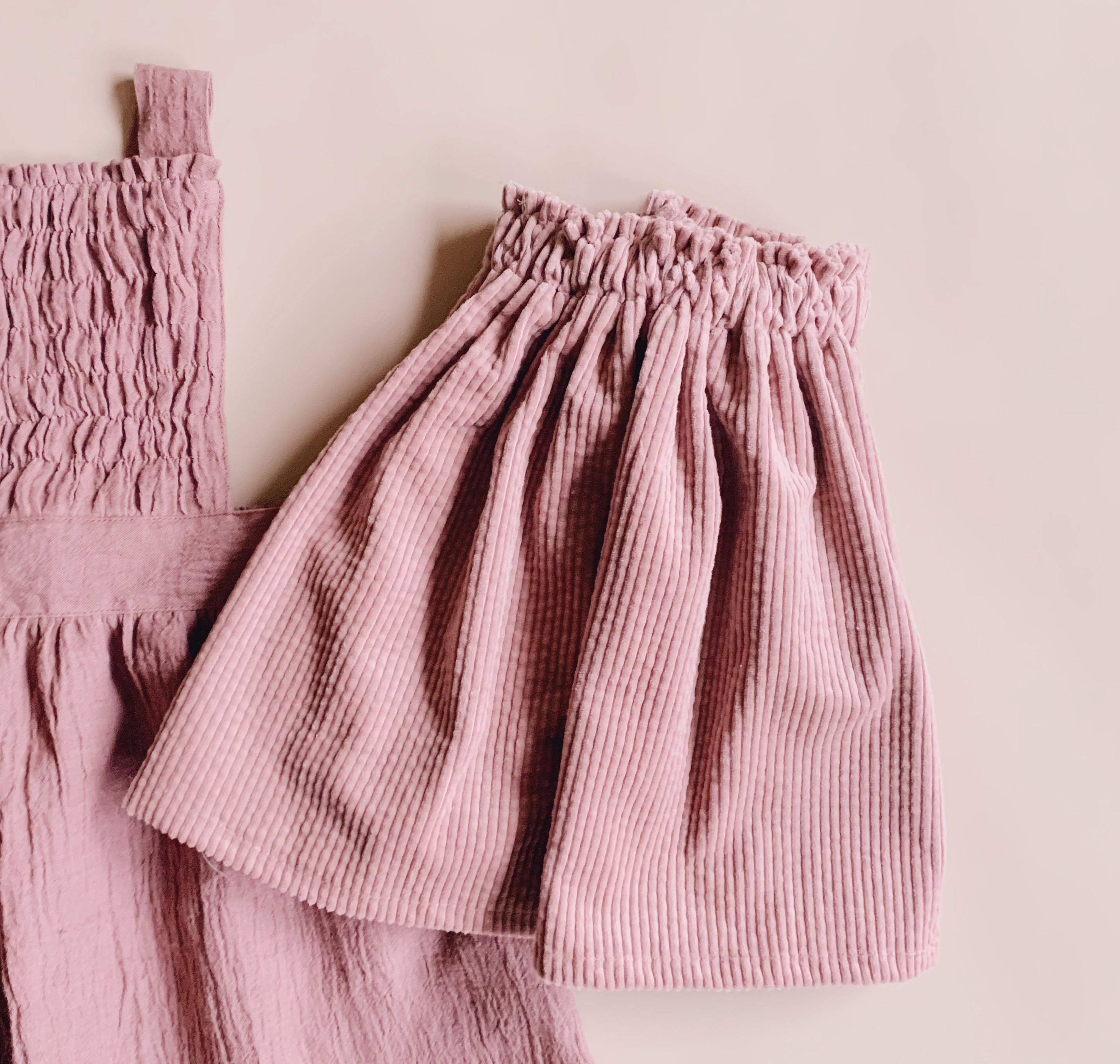 Ivy Skirt - Blush - Lupine and Luna