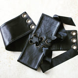 Aliki Belt - Moc Crock Leather Corset