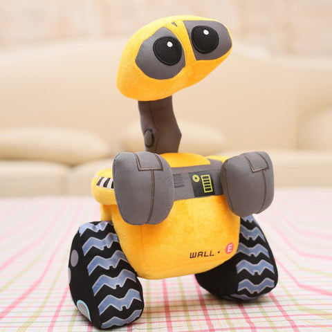 Free shipping 100% Original Wall-E Walle Minion Robot Plush toys WALL.E Stuffed Doll Children Christmas Birthday Gift 27cm