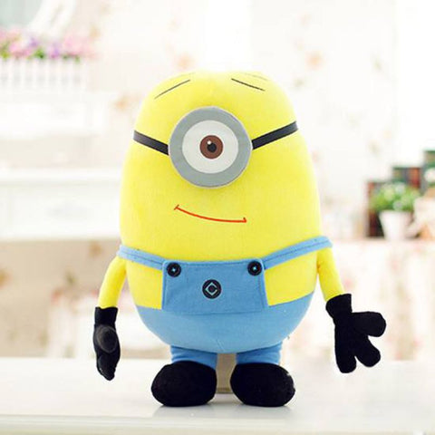 Big Size 50CM 3D Minions Despicable ME 2 Movie & TV Plush Baby Toy 20Inch Minion Toys & Hobbies One PCS Christmas Birthday Gift