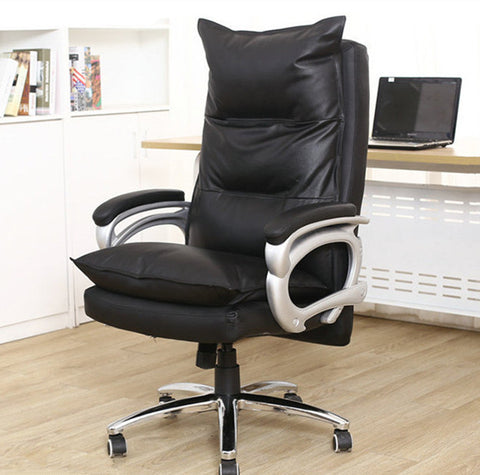 Luxurious and comfortable massage chair Home office chair Adjustable height Ergonomic boss seat Furniture swivel chair