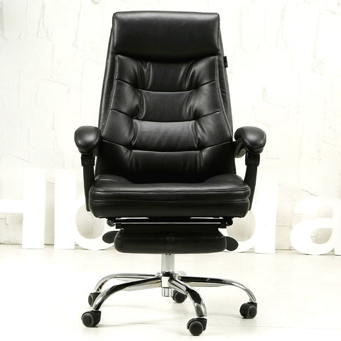 Luxurious comfortable office computer chair multifunctional household leather chair with ergonomic boss chair