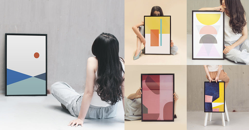 ABSTRACT ART PRINTS Photoshoot