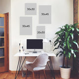 Set of multiple canvas prints - Workaholic
