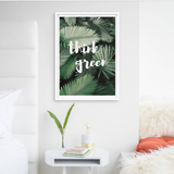 Think Green Frame