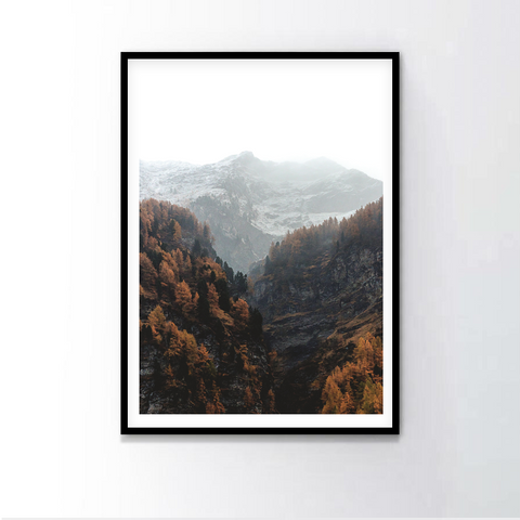 Fall Forest Frame